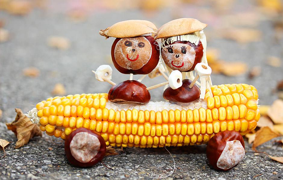 Basteln herbst halloween gummib rchencrew for Bastelideen kindergarten herbst